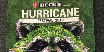 Hurricane Festival Kombiticket 3 Tage inkl. Camping