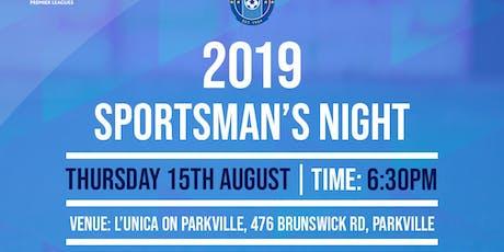 2019 SPORTSMAN'S NIGHT tickets