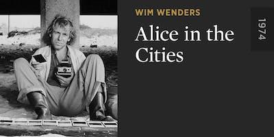 "Grand Nights - film screening ""Alice in the Cities"" (1974) Wim Wenders"