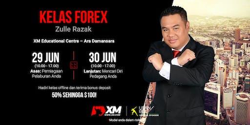 Kelas Offline Hujung Minggu bersama XM Malaysia - Instruktor Zulle Razak