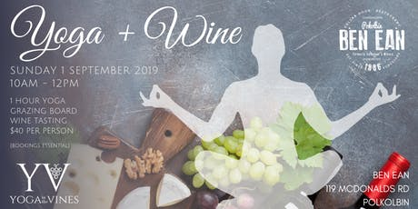 Yoga + Wine at Ben Ean tickets