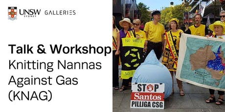 Talk & Workshop: Knitting Nannas Against Gas tickets