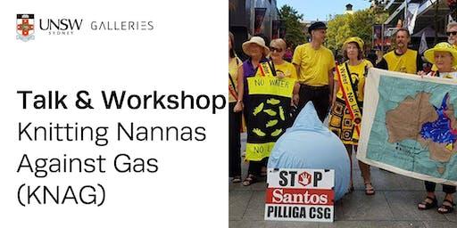 Talk & Workshop: Knitting Nannas Against Gas