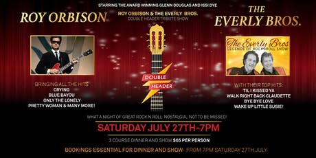 Roy Orbison & The Everly Brothers Rock N Roll Legends Show tickets