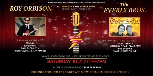 Roy Orbison & The Everly Brothers Rock N Roll Legends Show