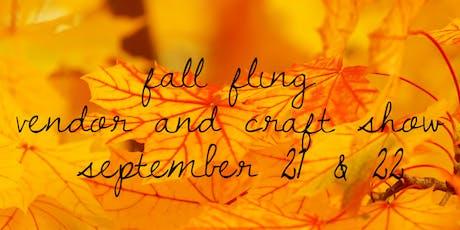 Fall Fling tickets
