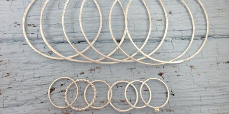 Jewellery & Silversmithing Workshop: Silver Bangles & Stacking Rings Workshop tickets