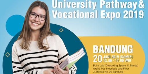 University Pathway and Vocational Expo 2019 (Jalur alternatif menuju S1)