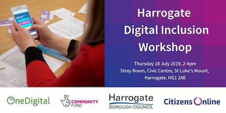 Harrogate Digital Inclusion Interactive Workshop tickets