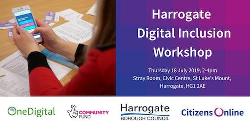 Harrogate Digital Inclusion Interactive Workshop