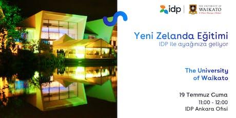 IDP ile Yeni Zelanda Eğitim Günü-Ankara tickets