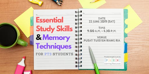 Essential Study Skills & Memory Techniques for PT3 Students