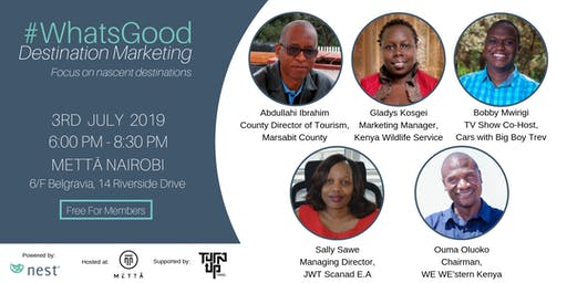 #WhatsGood Destination Marketing