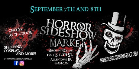 Horror Sideshow Market Tickets September 2019 tickets