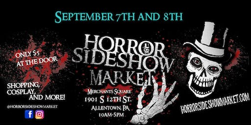 Horror Sideshow Market Tickets September 2019