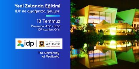 IDP ile Yeni Zelanda Eğitim Günü-İstanbul tickets