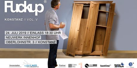 Fuckup Night Konstanz // Vol. V Tickets