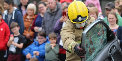Hicks Gate Fire Station Rescue Open Day 2019