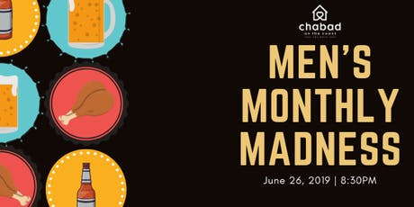 Men's Monthly Madness tickets