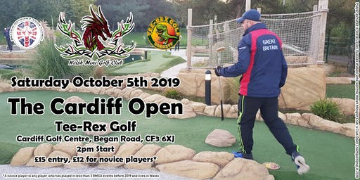 Cardiff Mini Golf Open 2019
