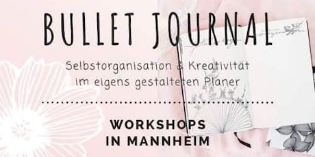 "Bullet Journal Workshop ""Kreativ mit dem Bullet Journal"" Tickets"