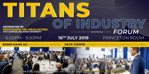 Titans of Industry Forum 2019