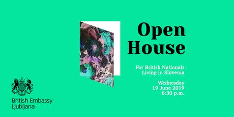 Open house for British nationals living in Slovenia tickets