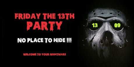 Friday the 13th Party • Summer Camp in the Woodsy Area tickets
