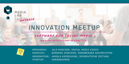 "Innovation Meetup ""Softwares für Social Media"""