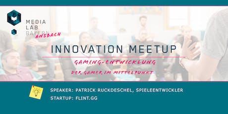 """Innovation Meetup """"Gaming-Entwicklung: Der Gamer im Mittelpunkt"""" Tickets"""