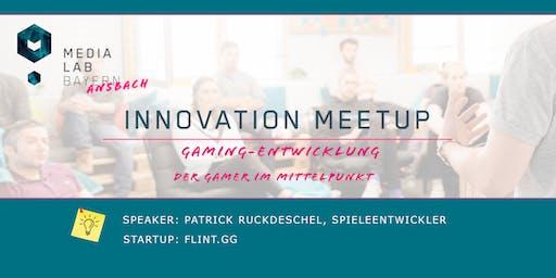 """Innovation Meetup """"Gaming-Entwicklung: Der Gamer im Mittelpunkt"""""""