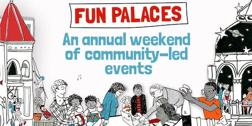 Coal Clough Library Fun Palace 2019 (Burnley) #funpalaces