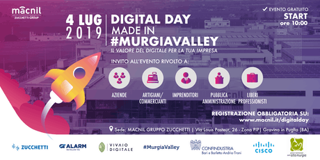 Digital Day Made in #MurgiaValley biglietti
