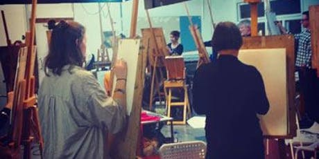 Drop-in Life Drawing & Painting Class - Friday Afternoon tickets