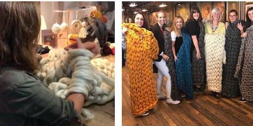 Arm Knit Blanket Workshop - Chichester