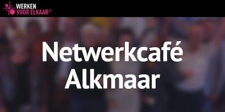 Netwerkcafé Alkmaar: Vakantie, het echte werk! tickets