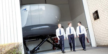 CAE Become a Pilot - Info session Brussels (French) tickets
