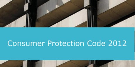 Consumer Protection Code - Dublin tickets