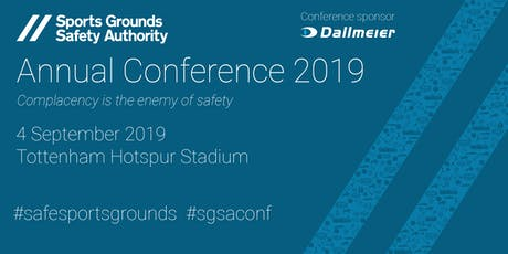 SGSA Annual Conference 2019 tickets