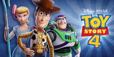 Movie: Toy Story 4 at Regal L.A. LIVE: A Barco Innovation in Los Angeles