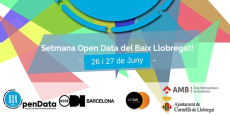 Setmana #OpenData del Baix Llobregat 2019 tickets