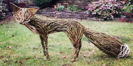 Willow weaving - Create an Urban Fox (October workshop) tickets