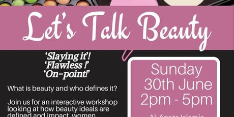 Let's Talk Beauty tickets