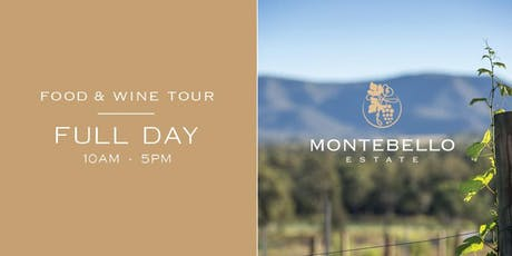 Full Day - Food & Wine Tour - Saturday, 3 August 2019 tickets