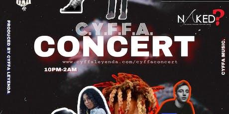 CYFFA Concert tickets