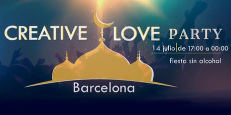 Creative Love Party - Fiesta Consciente Barcelona entradas