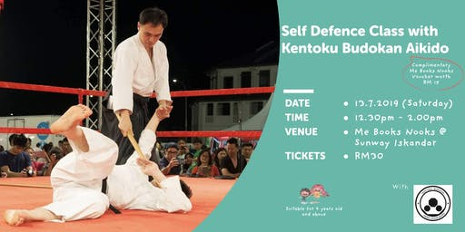 Self Defence with Kentoku Budokan Aikido under Sensei Aw Man Keen