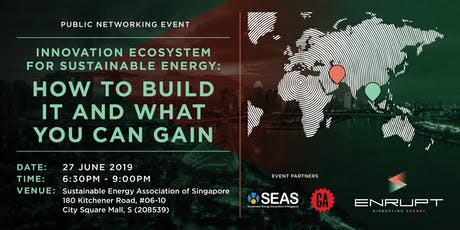 Innovation Ecosystem For Sustainable Energy: How To Build It & What You Can Gain tickets