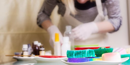 Boozy Soap Making Class with Dirty Bubble