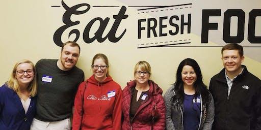 Volunteer for Mid-Ohio Foodbank Kroger Food Pantry - 7/24/19